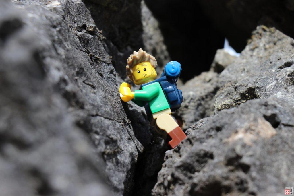 Es hieß doch leichter Wanderweg | ©2019 Brickzeit