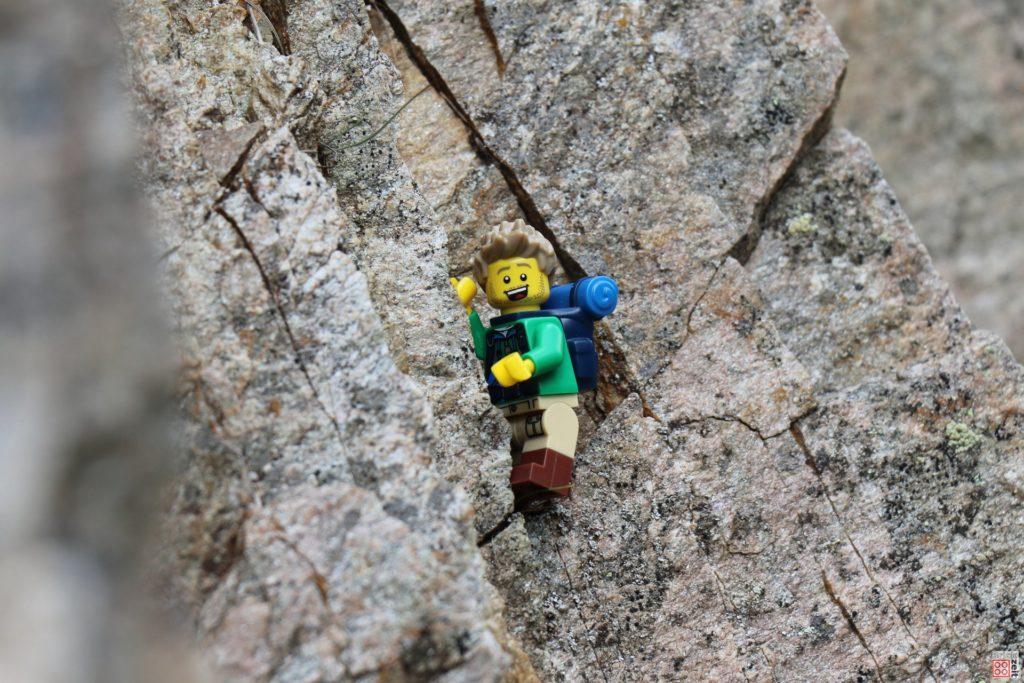 Beim Klettern | ©2019 Brickzeit
