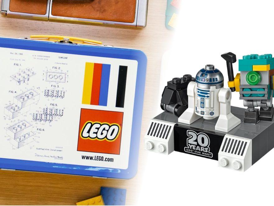 LEGO Gratisbeigaben Brotzeitdose und Mini Boost Droid