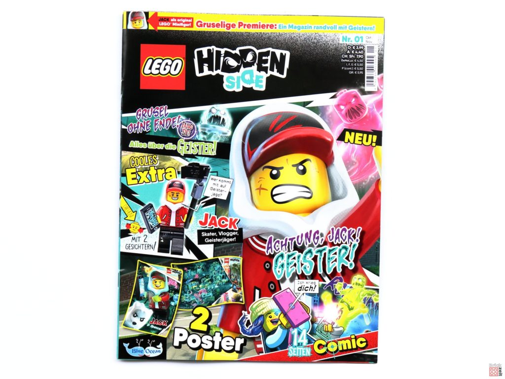 LEGO Hidden Side Magazin Nr.1 - Cover | ©2019 Brickzeit