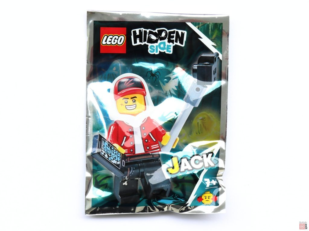 LEGO Hidden Side - Minifigur Jack Polybag Item Nr. 791901 | ©2019 Brickzeit