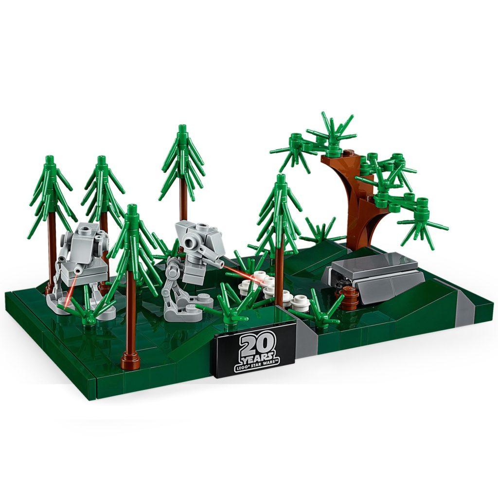 LEGO Star Wars 40362 Schlacht von Endor Mikromodell | ©LEGO Gruppe
