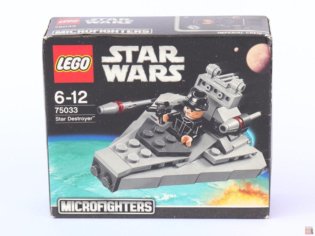 LEGO Star Wars 75033 Star Destroyer Microfighters - Packung Vorderseite| ©2019 Brickzeit