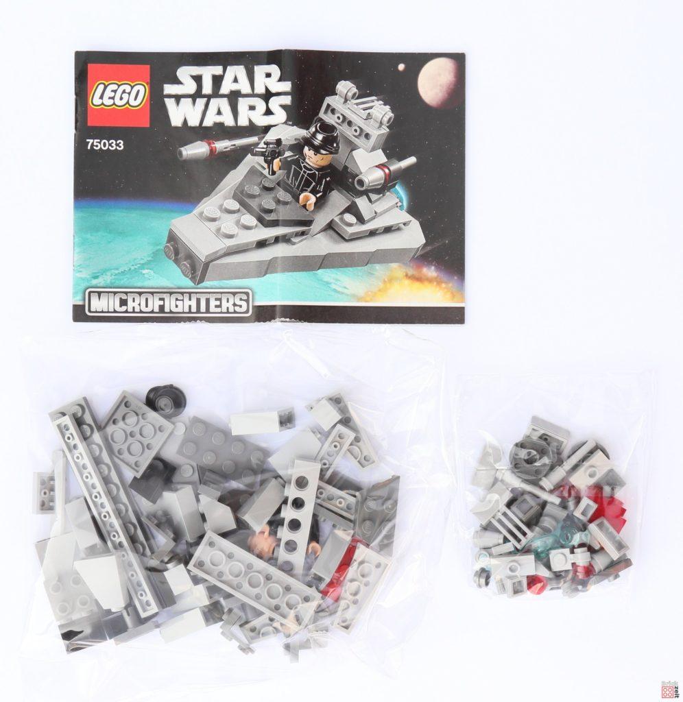 LEGO Star Wars 75033 Star Destroyer Microfighters - Inhalt | ©2019 Brickzeit