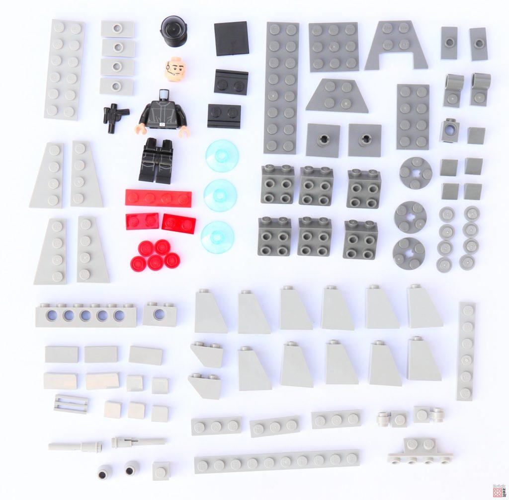 LEGO Star Wars 75033 Star Destroyer Microfighters - Einzelteile | ©2019 Brickzeit