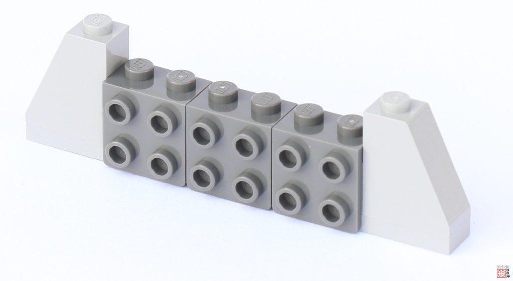 LEGO Star Wars 75033 Star Destroyer - Aufbau, Anfang | ©2019 Brickzeit