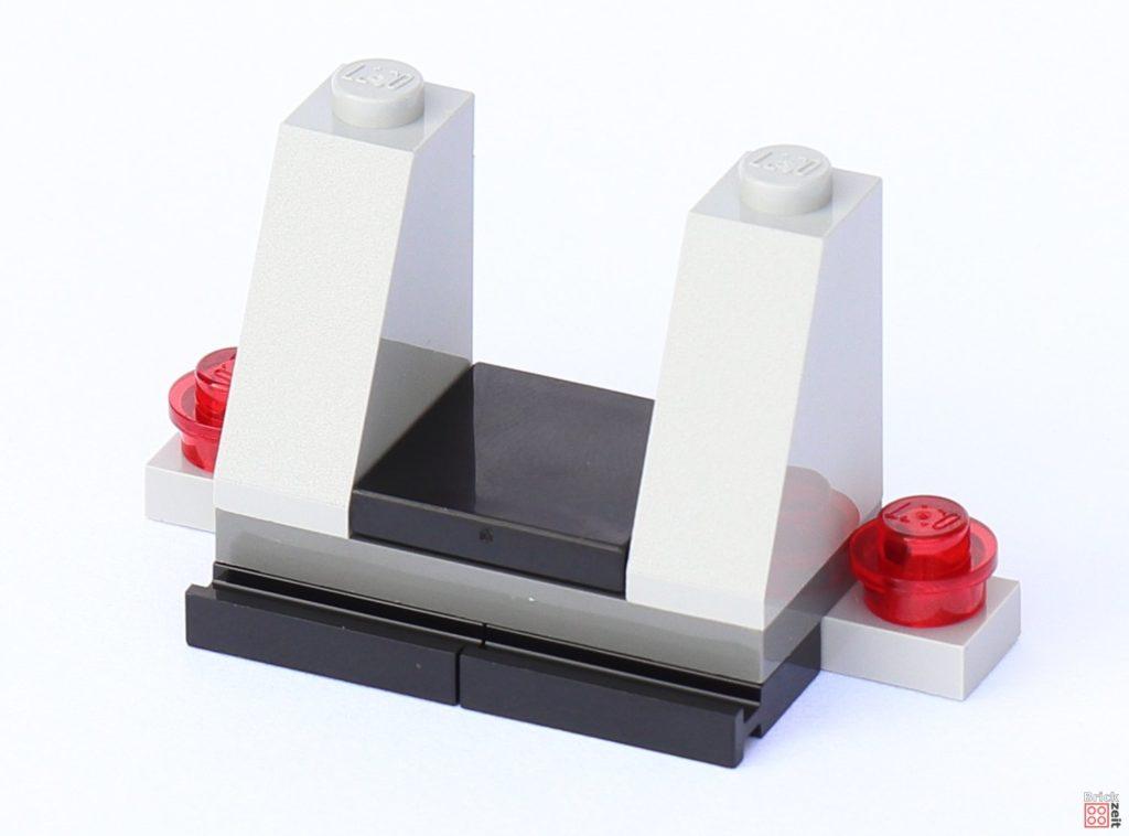 LEGO Star Wars 75033 Star Destroyer - Aufbau, Sitzaussparung | ©2019 Brickzeit