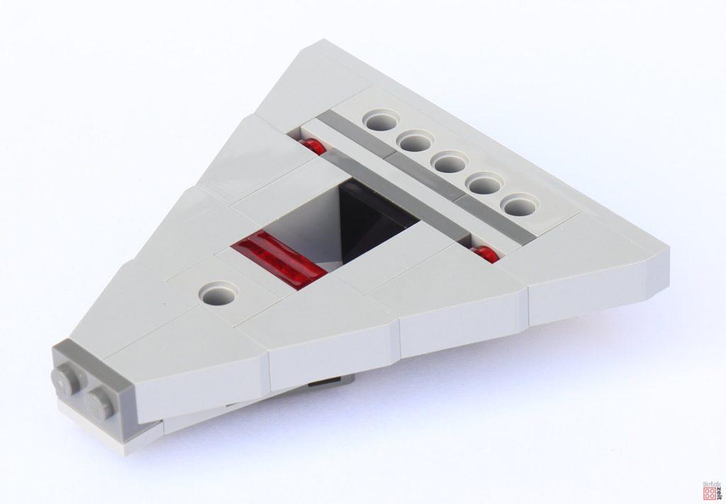 LEGO Star Wars 75033 Star Destroyer - Aufbau, Unterseite | ©2019 Brickzeit