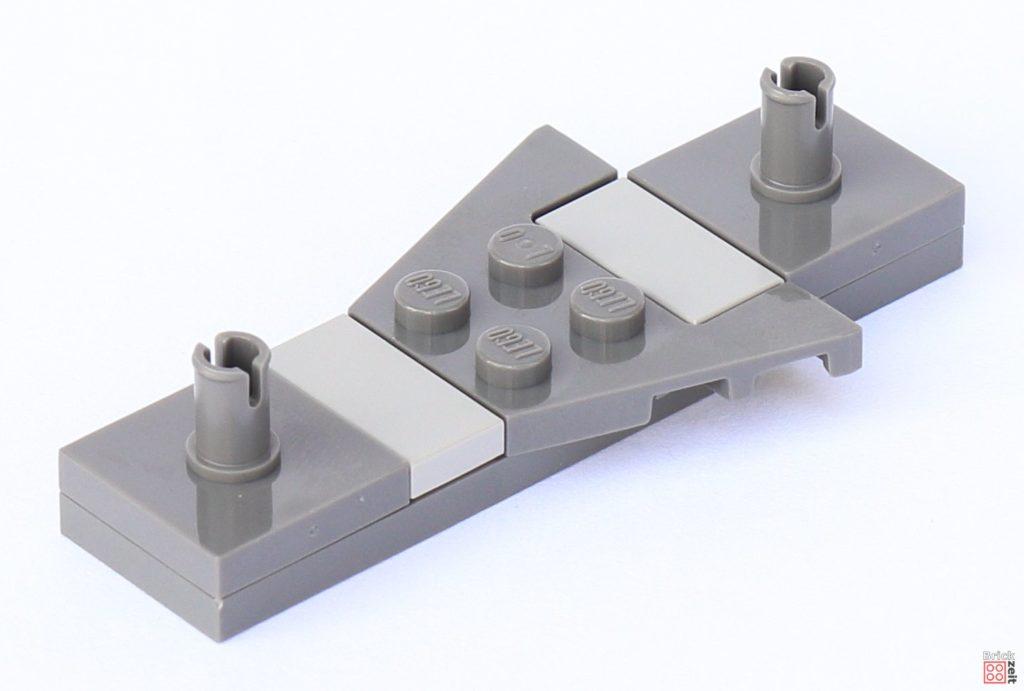 LEGO Star Wars 75033 Star Destroyer - Aufbau, Sitz | ©2019 Brickzeit