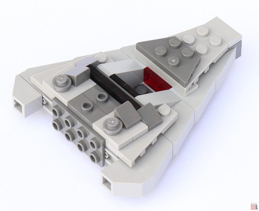 LEGO Star Wars 75033 Star Destroyer - Aufbau, Vorbereitung für Brücke | ©2019 Brickzeit