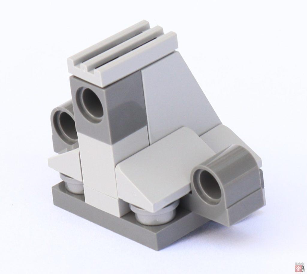 LEGO Star Wars 75033 Star Destroyer - Aufbau, Brückenturm | ©2019 Brickzeit