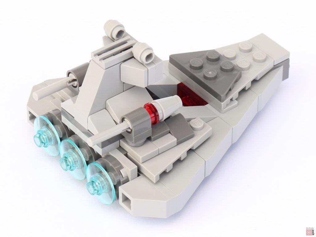 LEGO Star Wars 75033 Star Destroyer Microfighters - hinten, rechts | ©2019 Brickzeit