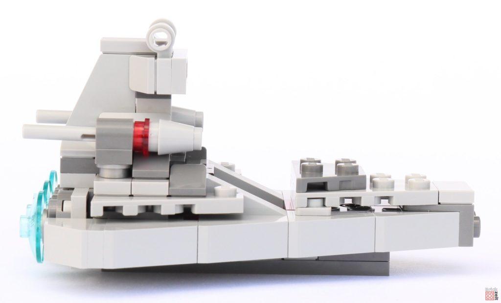 LEGO Star Wars 75033 Star Destroyer Microfighters - rechte Seite | ©2019 Brickzeit