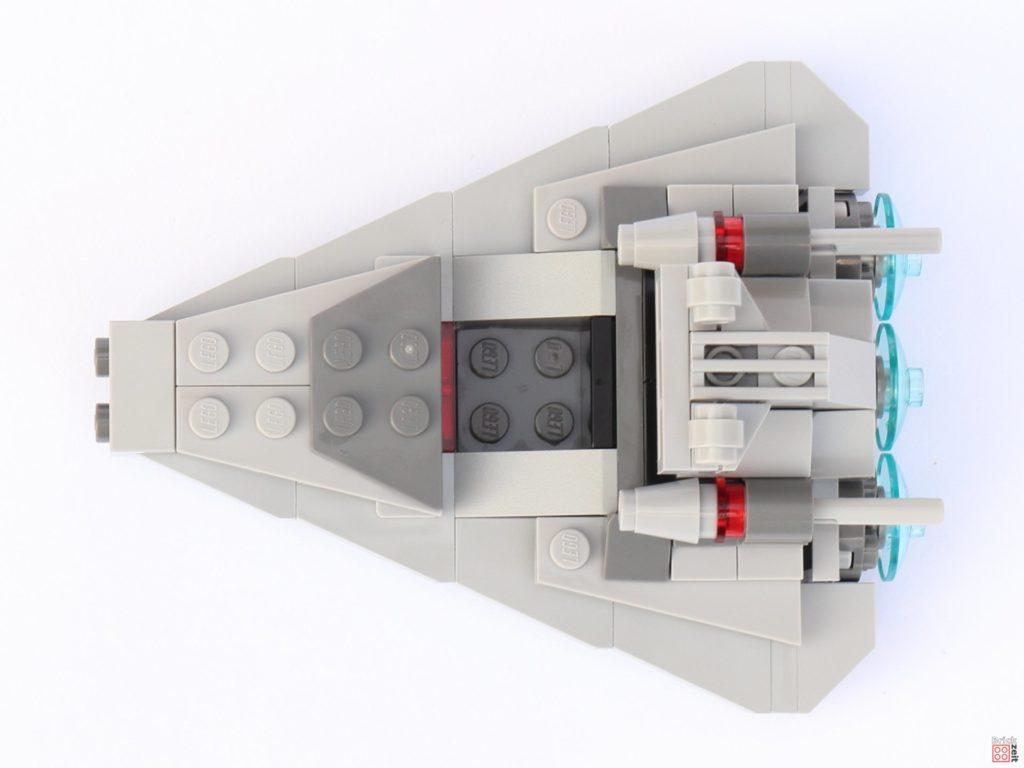 LEGO Star Wars 75033 Star Destroyer Microfighters - Draufsicht | ©2019 Brickzeit