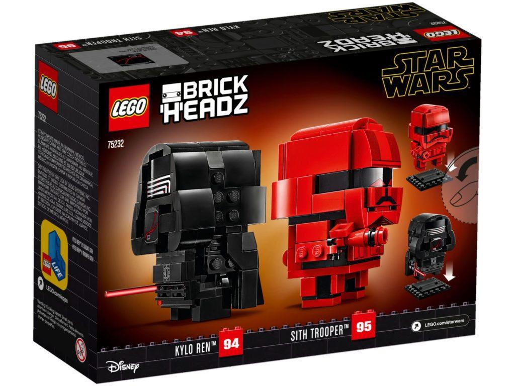 LEGO® Star Wars™ Brickheadz 75232 Kylo Ren und Sith Trooper | ©LEGO Gruppe