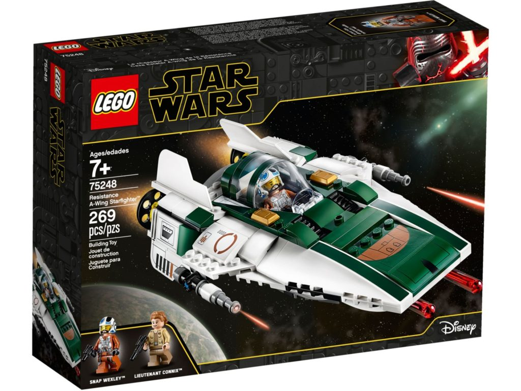 LEGO® Star Wars™ 75248 Resistance A-Wing Starfighter | ©LEGO Gruppe