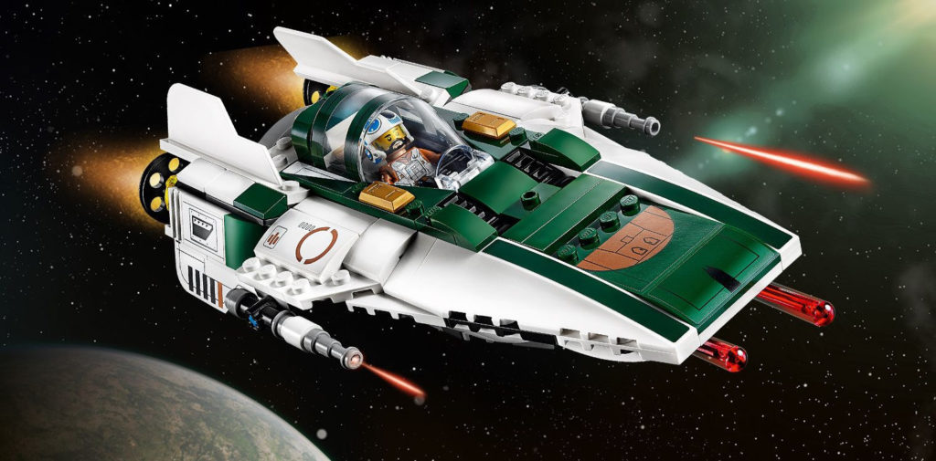 LEGO Star Wars 75248 Resistance A-Wing | ©LEGO Gruppe
