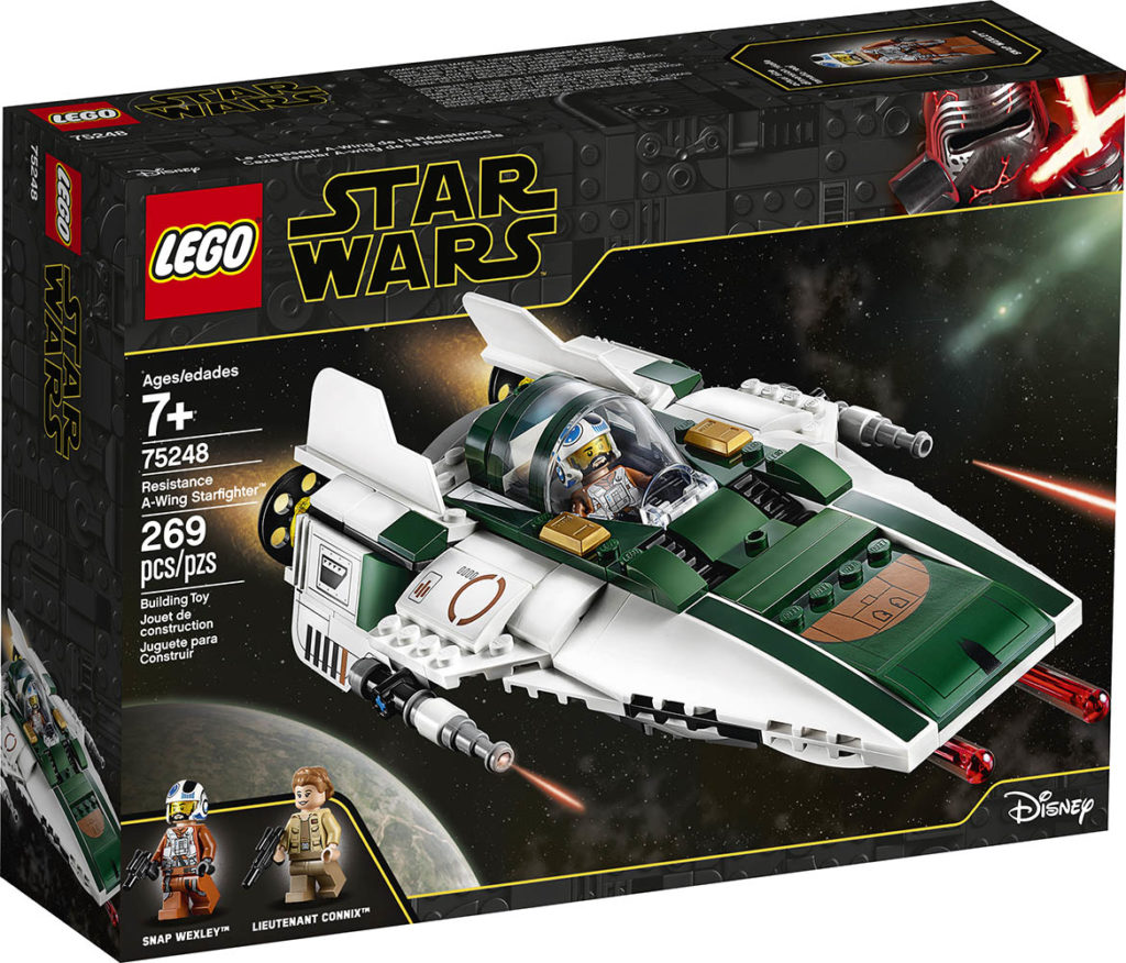 LEGO Star Wars 75248 Resistance A-Wing - Packung | ©LEGO Gruppe