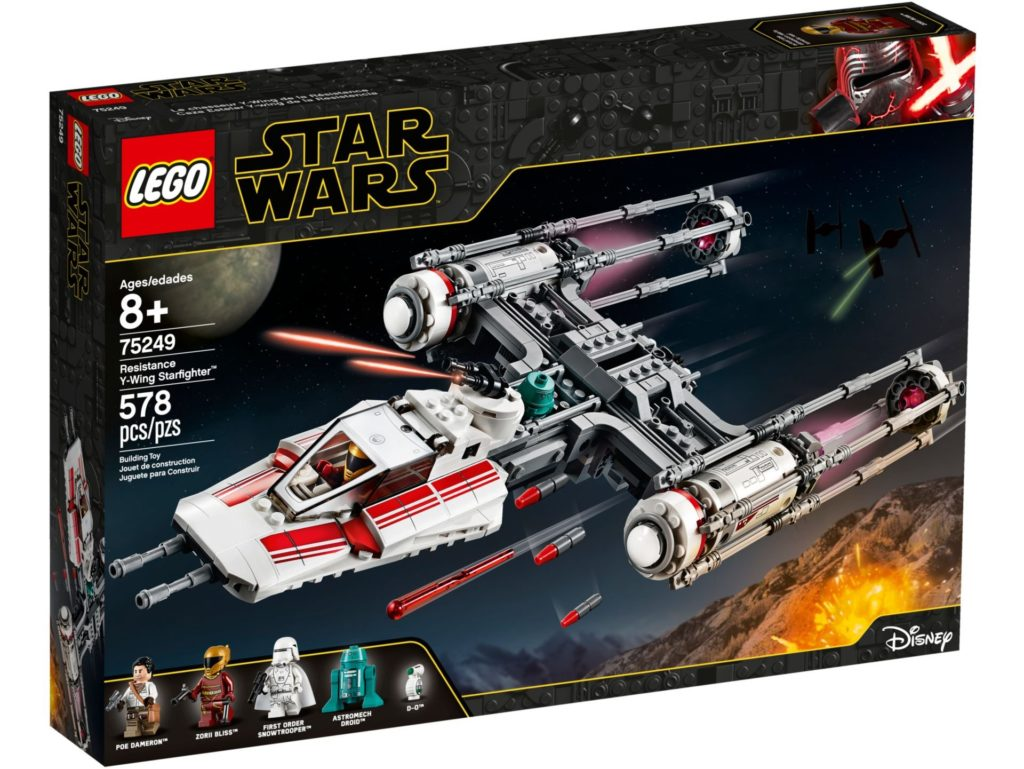 LEGO® Star Wars™ 75249 Resistance Y-Wing Starfighter | ©LEGO Gruppe