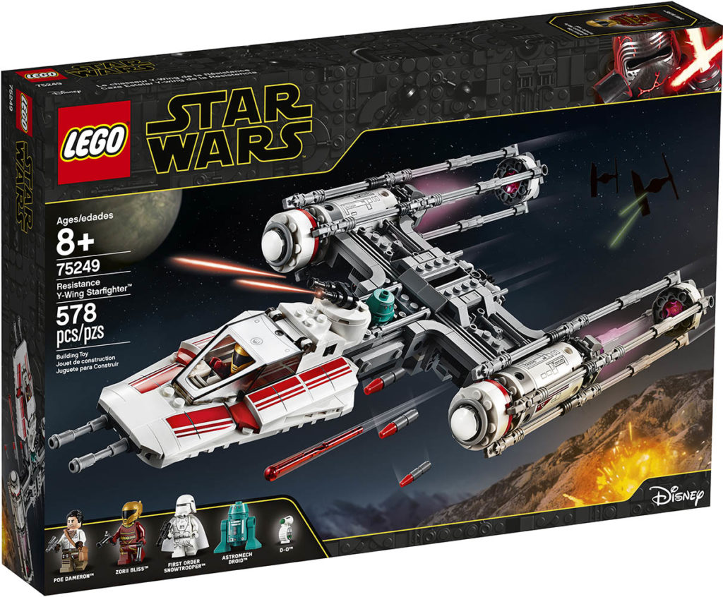 LEGO Star Wars 75249 Resistance Y-Wing - Packung | ©LEGO Gruppe
