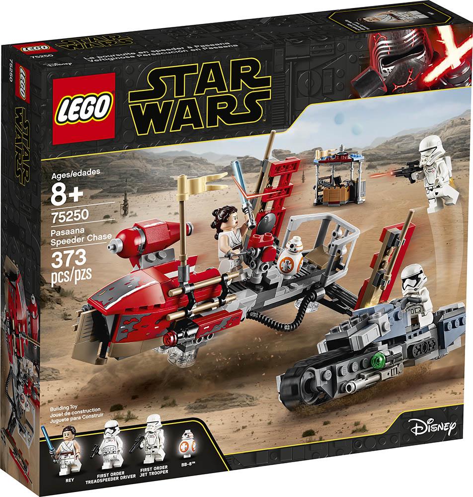 LEGO® Star Wars™ 75250 Pasaana Speeder Chase - Packung | ©LEGO Gruppe