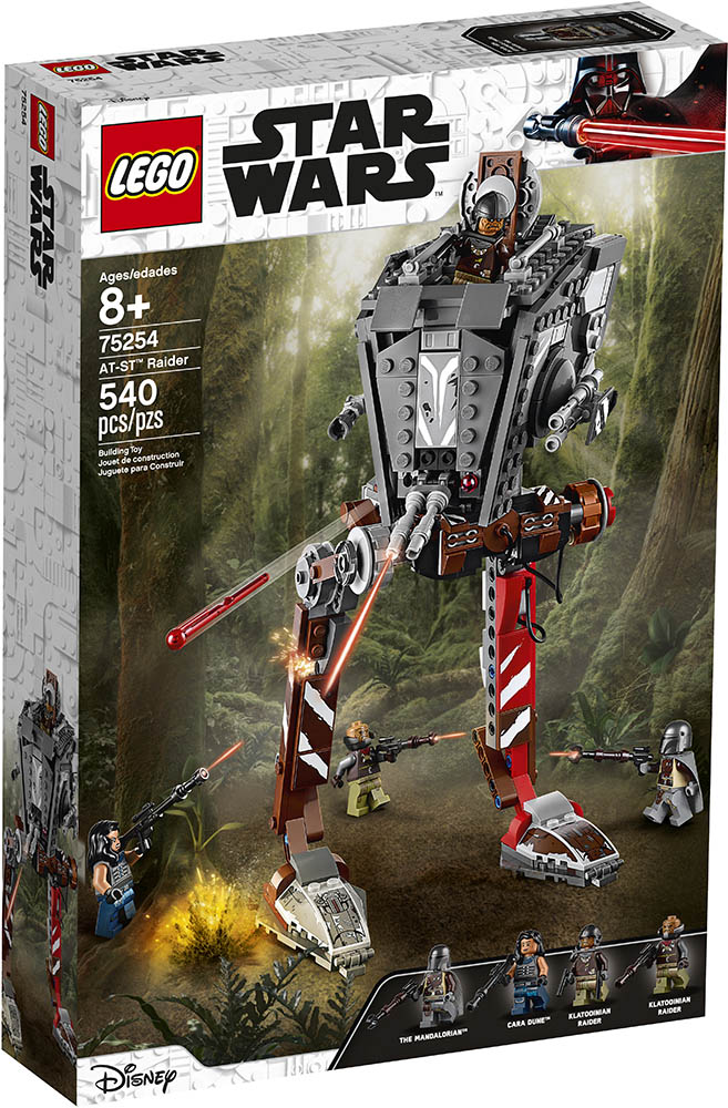 LEGO® Star Wars™ 75254 AT-ST Raider - Packung | ©LEGO Gruppe