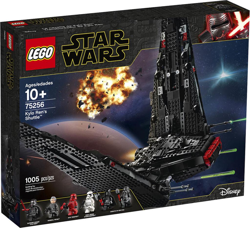 LEGO® Star Wars™ 75256 Kylo Ren's Shuttle - Packung | ©LEGO Gruppe