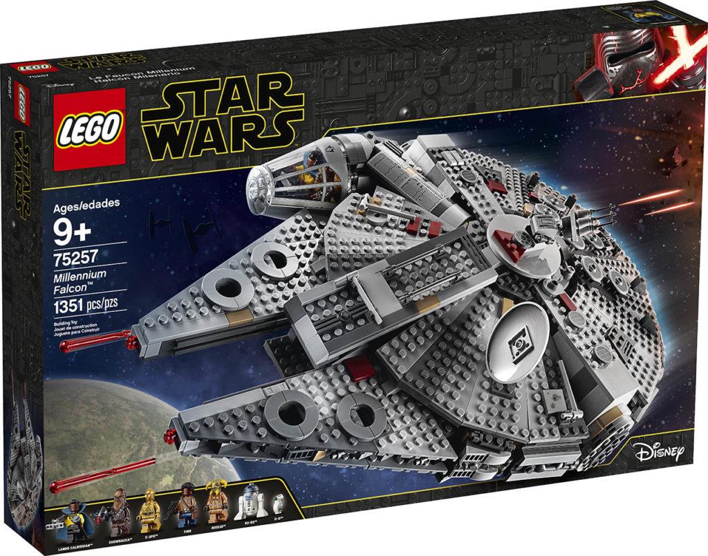 LEGO® Star Wars™ 75257 Millennium Falcon - Packung | ©LEGO Gruppe