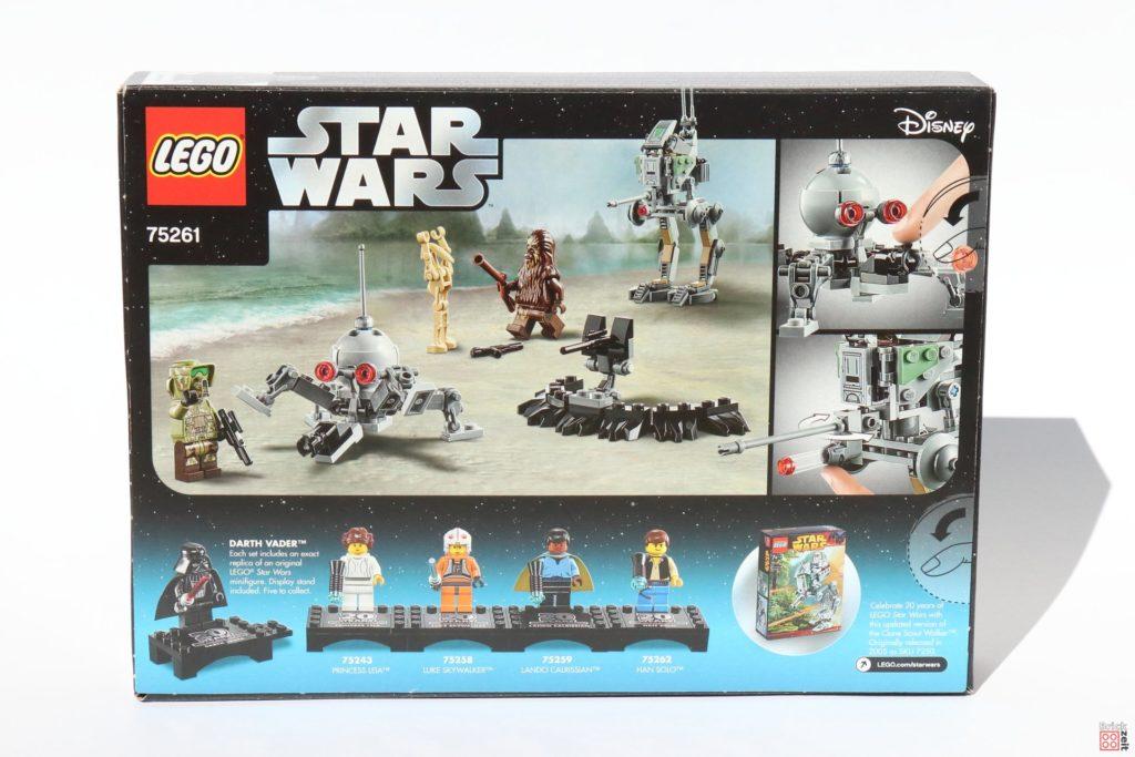 LEGO® Star Wars™ 75261 Clone Scout Walker™ - Packung Rückseite | ©2019 Brickzeit