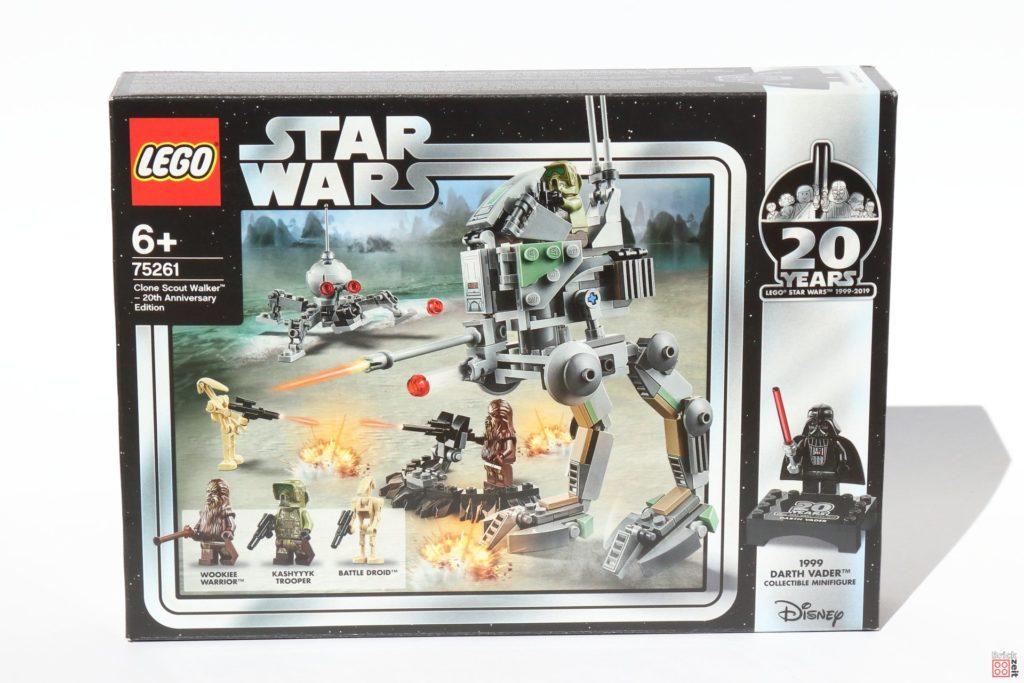 LEGO® Star Wars™ 75261 Clone Scout Walker™ - Packung Vorderseite | ©2019 Brickzeit