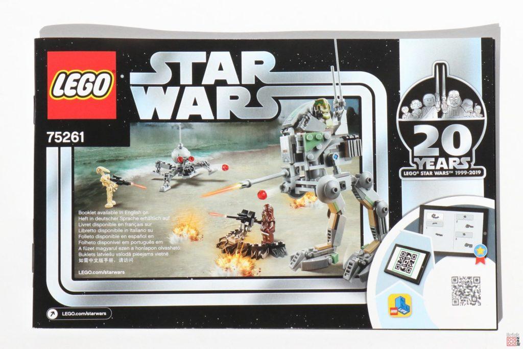 LEGO® Star Wars™ 75261 Clone Scout Walker™ - Anleitung | ©2019 Brickzeit