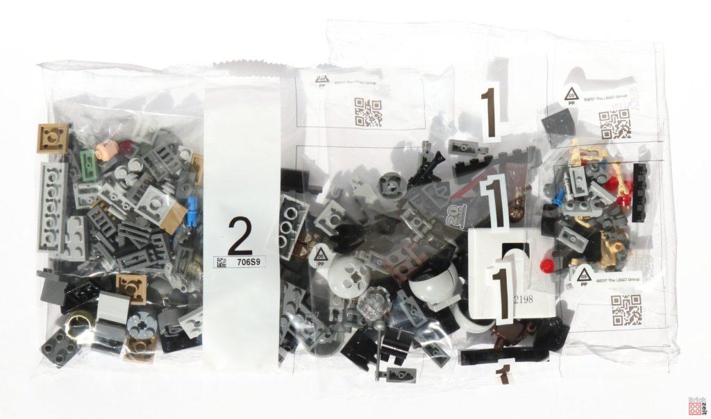 LEGO® Star Wars™ 75261 Clone Scout Walker™ - Inhalt, Bausteintütchen | ©2019 Brickzeit