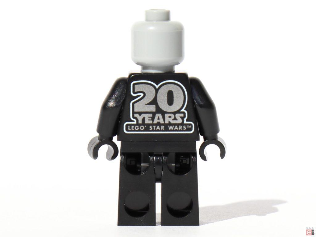 LEGO® Star Wars™ 75261 - Darth Vader Jubiläumsfigur ohne Zubehör, Rückseite | ©2019 Brickzeit