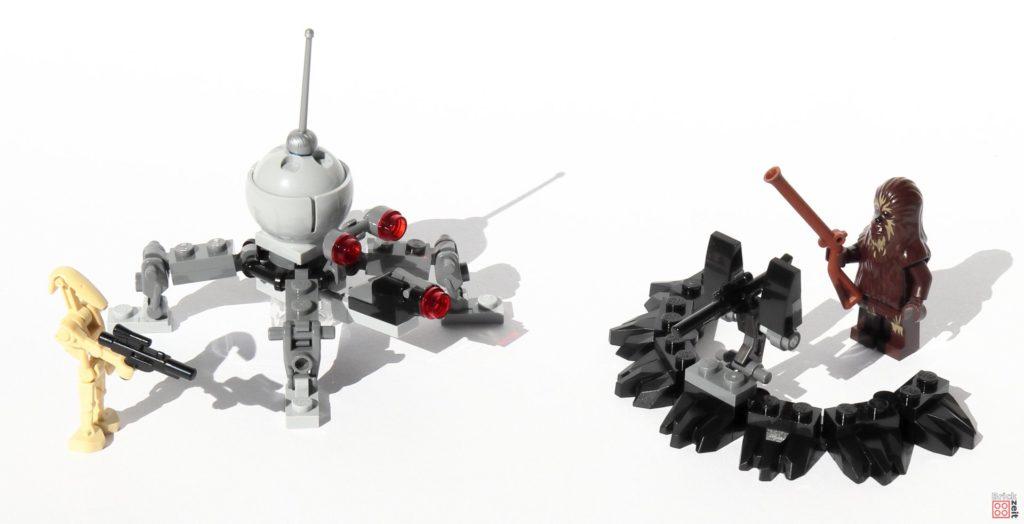 LEGO® Star Wars™ 75261 - DSD1 Zwergspinnendroide und Schützengraben | ©2019 Brickzeit