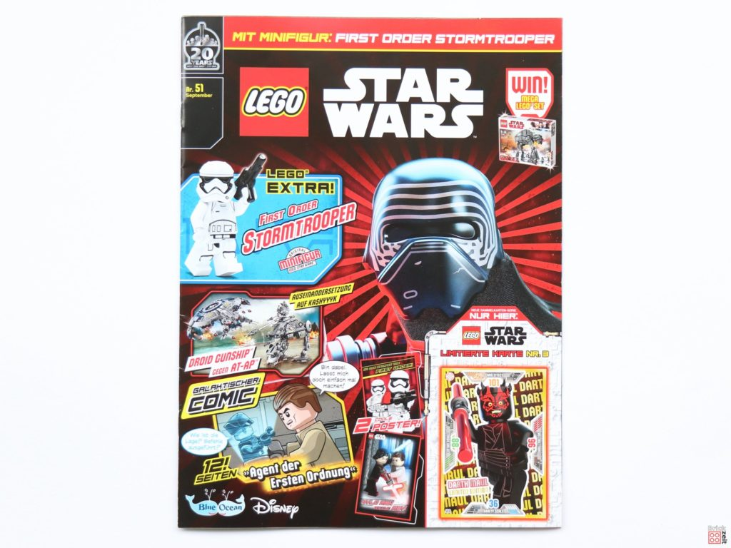 LEGO® Star Wars™ Magazin Nr. 51 (September 2019) - Cover | ©2019 Brickzeit