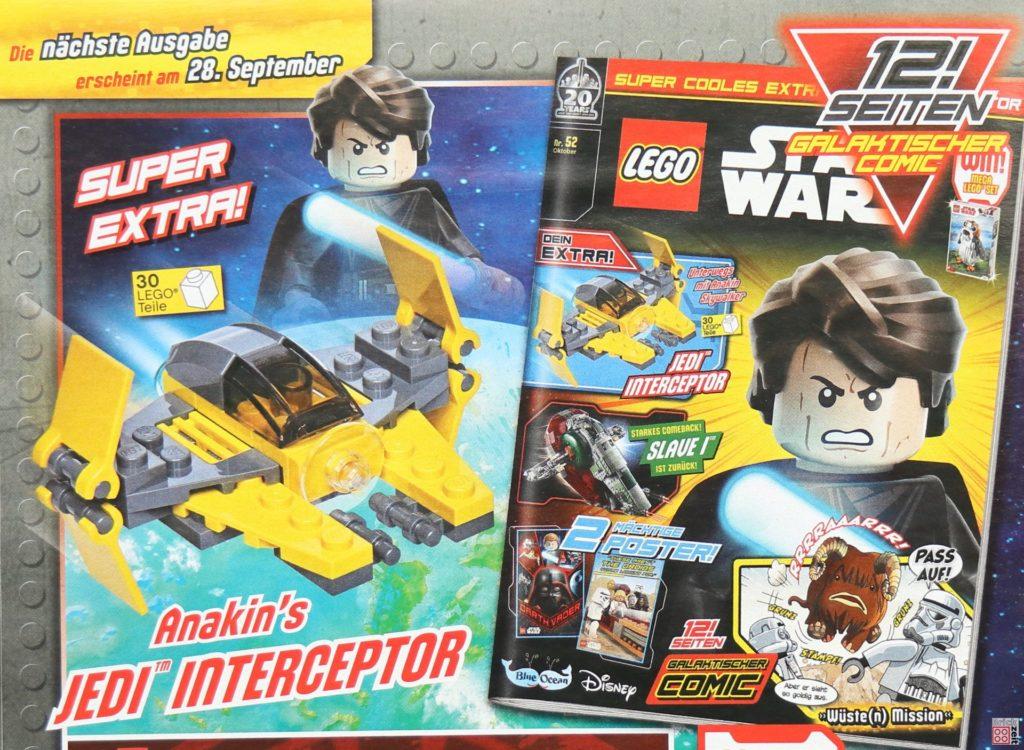 LEGO® Star Wars™ Magazin Nr. 51 (September 2019) - Heftvorschau | ©2019 Brickzeit