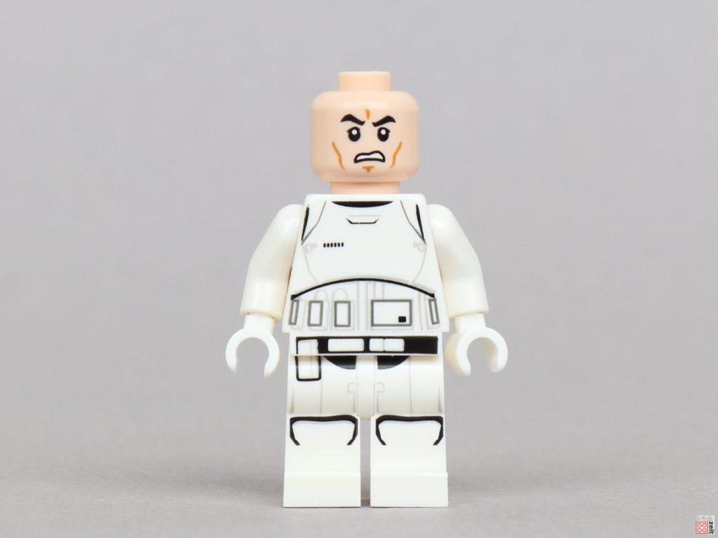 LEGO® Star Wars™ Magazin Nr. 51 - First Order Stormtrooper, Vorderseite ohne Helm | ©2019 Brickzeit