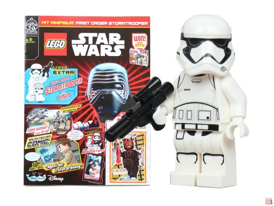 LEGO® Star Wars™ Magazin Nr. 51 (September 2019) - Titelbild | ©2019 Brickzeit