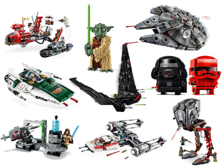 LEGO Star Wars Oktober 2019 Triple Force Friday Neuheiten