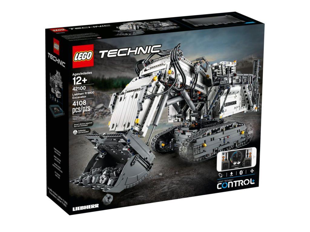 LEGO Technic 42100 Liebherr Bagger R 9800 - Bild 2 | ©LEGO Gruppe