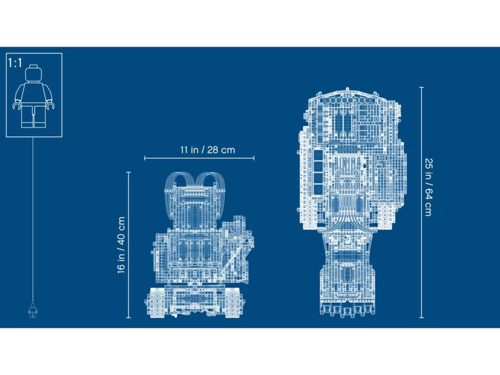 LEGO Technic 42100 Liebherr Bagger R 9800 - Bild 5 | ©LEGO Gruppe