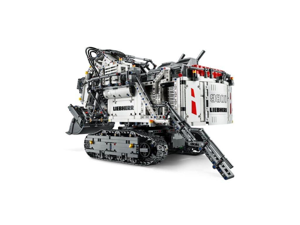 LEGO Technic 42100 Liebherr Bagger R 9800 - Bild 6 | ©LEGO Gruppe