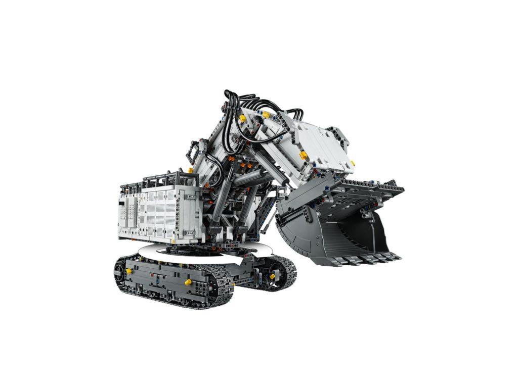 LEGO Technic 42100 Liebherr Bagger R 9800 - Bild 8 | ©LEGO Gruppe