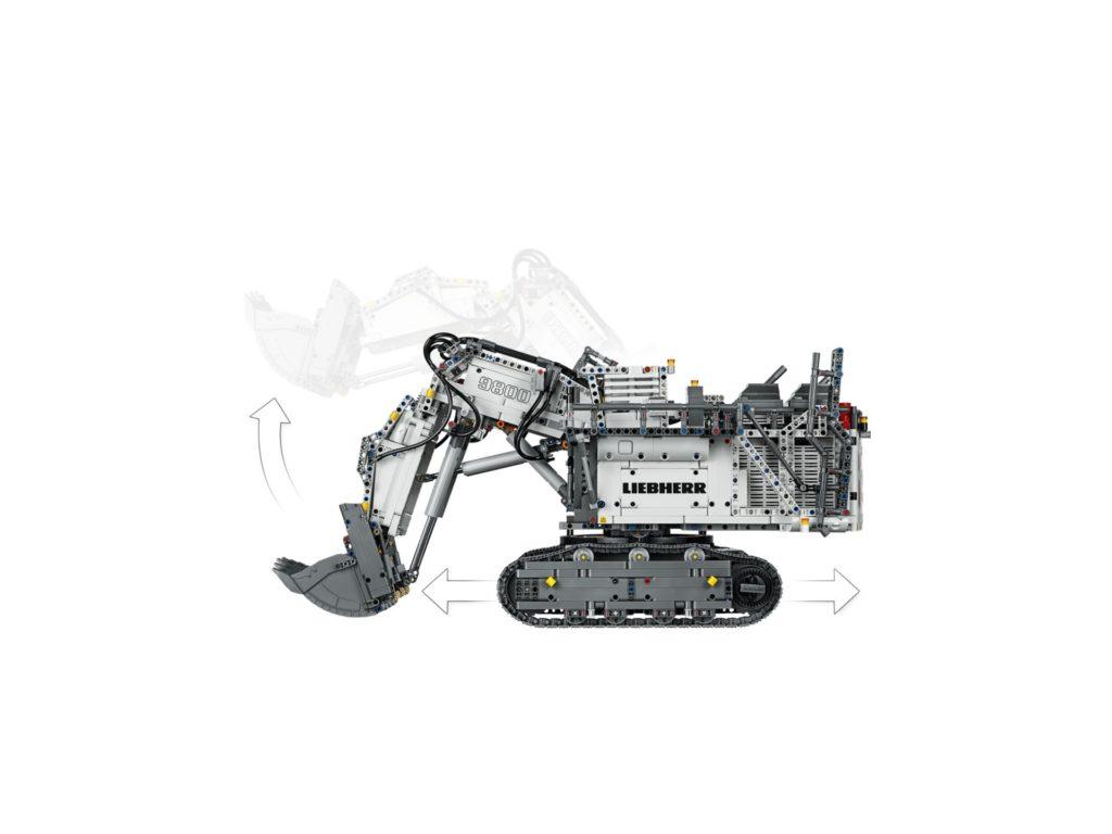 LEGO Technic 42100 Liebherr Bagger R 9800 - Bild 9 | ©LEGO Gruppe