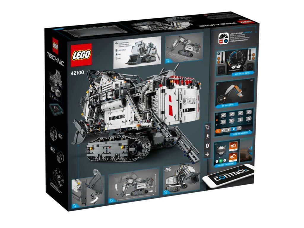 LEGO Technic 42100 Liebherr Bagger R 9800 - Bild 11 | ©LEGO Gruppe