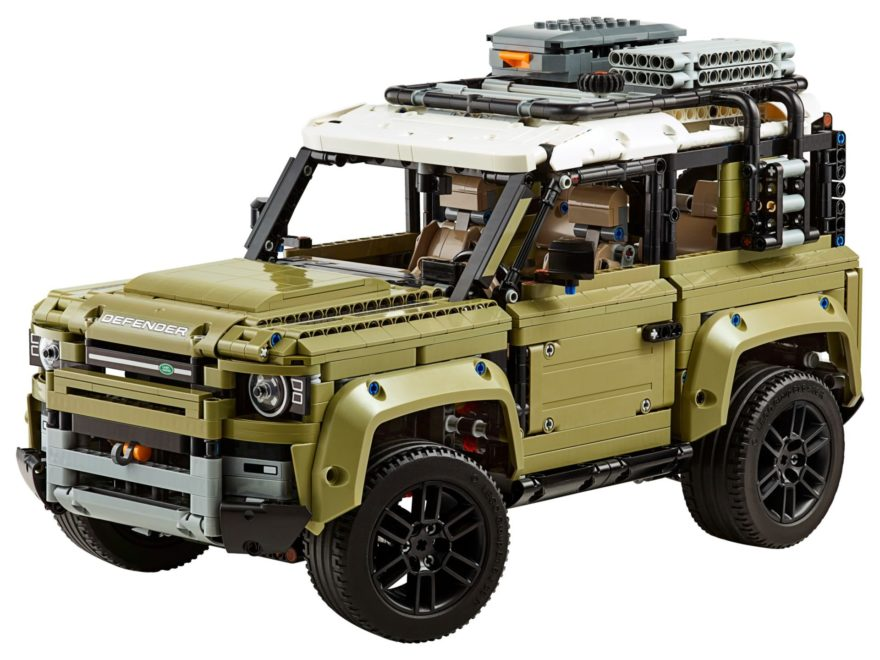 LEGO Technic 42110 Land Rover Defender - Bild 1 | ©LEGO Gruppe
