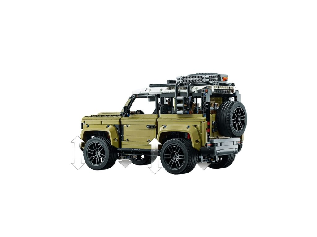 LEGO Technic 42110 Land Rover Defender - Bild 6 | ©LEGO Gruppe