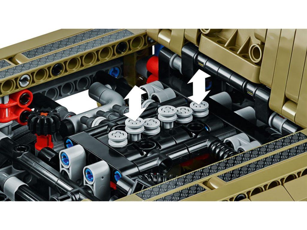 LEGO Technic 42110 Land Rover Defender - Bild 8 | ©LEGO Gruppe