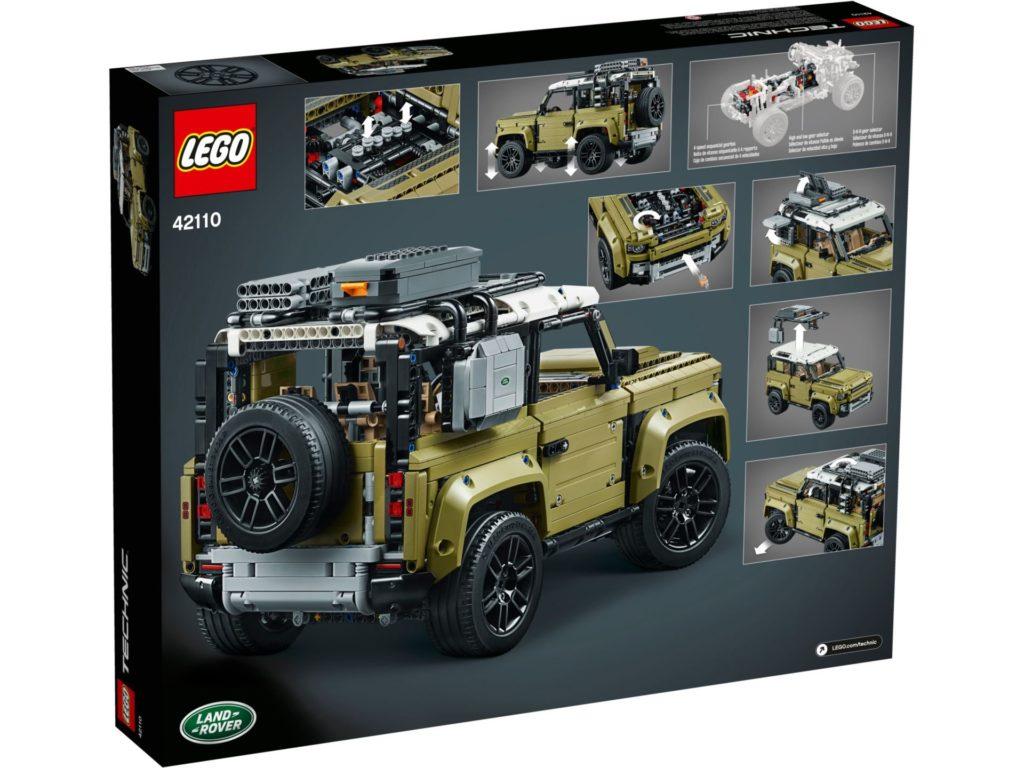 LEGO Technic 42110 Land Rover Defender - Bild 9 | ©LEGO Gruppe