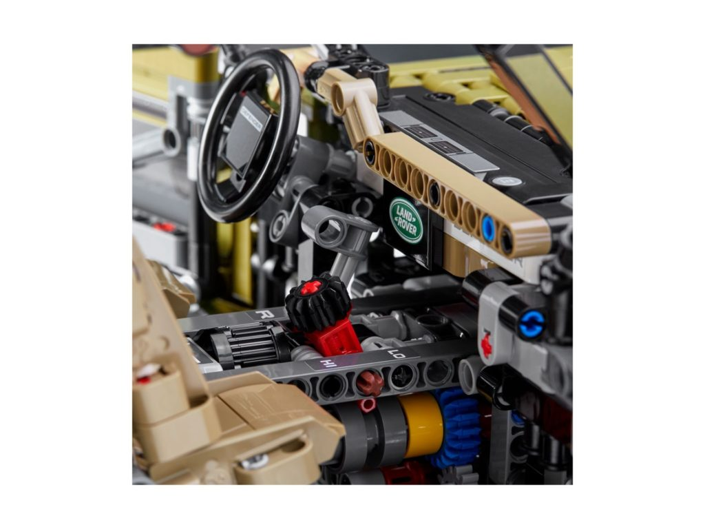 LEGO Technic 42110 Land Rover Defender - Bild 10 | ©LEGO Gruppe